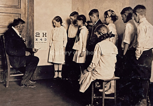 Early School Eye Testing