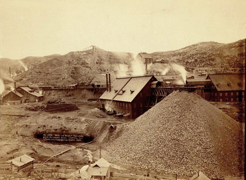Homestake_works_mine_1889